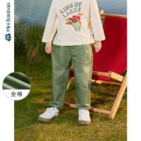 【618年中庆 2件3折价:48】迷你巴拉巴拉男童裤子2020年春装新款儿童萝卜裤儿童文艺休闲裤