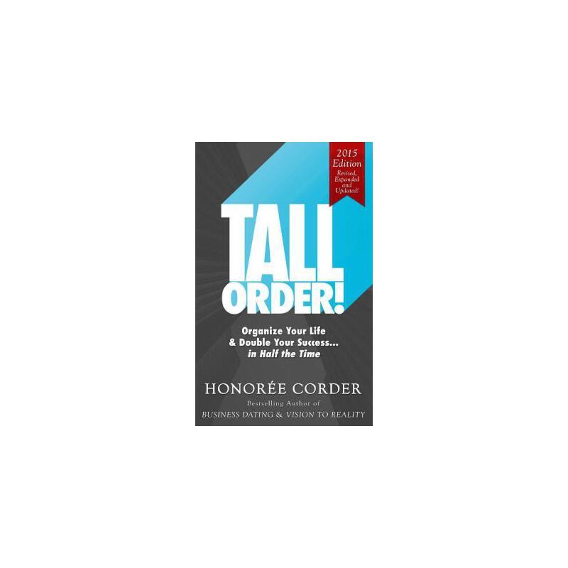 【预订】Tall Order!: Organize Your Life and Double Your Success in Half the Time 预订商品,需要1-3个月发货,非质量问题不接受退换货。