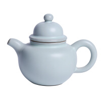 可�B小茶�匾蝗擞锰烨啾�裂泡茶器家用功夫茶陶瓷���凸�