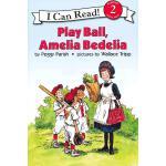 Play Ball, Amelia Bedelia Book and CD玩球吧,阿米利亚波德里亚(书+CD)(I Can Read,Level 2)ISBN9780060741082