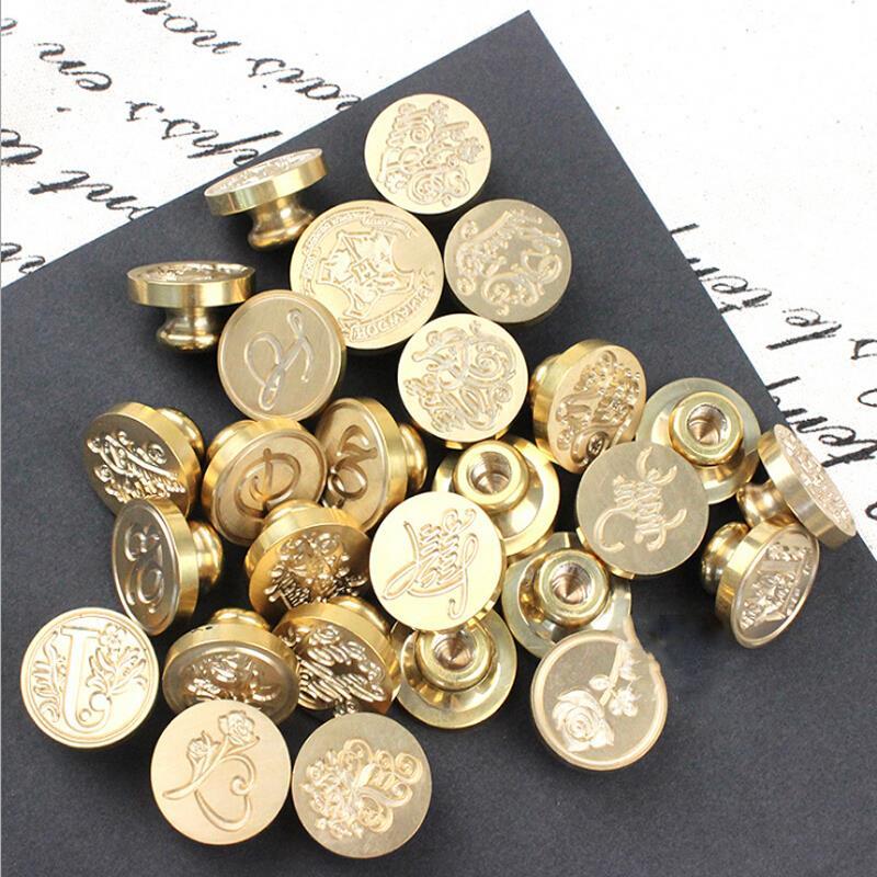 火漆印章铜头 欧式字母祝福语哈利波特等上千款图案 火漆章头 哈利波特 备注款式