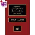 【中商海外直订】Software Quality Control, Error, Analysis