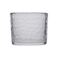 清酒冰酒器 日式和风加厚锤目纹玻璃温酒器酒具套装清酒壶冰酒器小冰桶玻璃罐