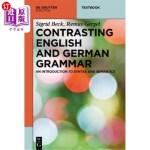 【中商海外直订】Contrasting English and German Grammar: An Introduc