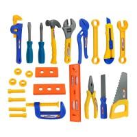 �和�工具箱玩具套�b�S修工具�_����修理工具螺�z刀��@�^家家玩具男孩女孩玩具1-2-3-6�q