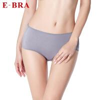 【149任选2件】安莉芳集团E-BRA女士内裤舒适中腰平角裤K2W0049