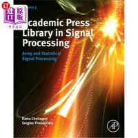 【中商海外直订】Academic Press Library in Signal Processing: Array