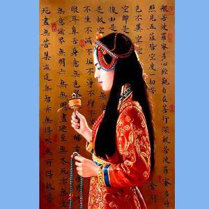 著名油画艺术家,福建油画协会常务理事曾新伟(祈福1)