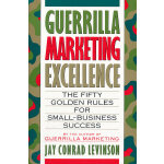 Guerrilla Marketing Excellence(ISBN=9780395608449) 英文原版