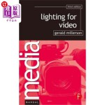 【中商海外直订】Lighting for Video