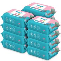 蓝漂 六只小虎亲肤湿纸巾 10包装 (80抽/包)