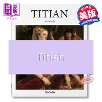 【中商原版】提香 英文原版 Titian 艺术绘画 TASCHEN