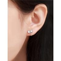 女士气质简约小巧耳钉法式耳饰冷淡风耳夹耳饰