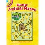 Easy Animal Mazes(【按需印刷】)