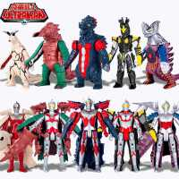 正版咸蛋超人奥特曼泰罗佐菲变形和打怪兽儿童玩具组合套装男孩