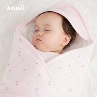 【活动价:185】安奈儿婴儿抱被2020春季新款新生儿男女宝宝抱被