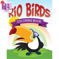 【中商海外直订】Rio Birds Coloring Book