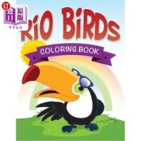 【中商海外直订】Rio Birds Coloring Book