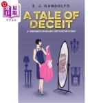 【中商海外直订】A Tale of Deceit: A Veronica Howard Vintage Mystery