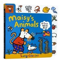 进口英文和小鼠波波一起认识动物Maisy's Animals: A First Words Book