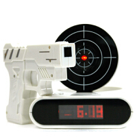 儿童闹钟 APP控制创意布谷鸟闹钟懒人射击打靶闹钟儿童学生床头时钟创意电子礼品
