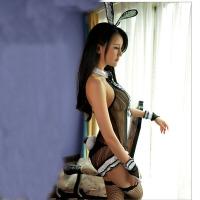 情趣内衣兔女郎套装性感OL透视激情sm真人夜店挑逗派对制服女 兔女郎 均码