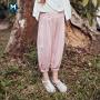 【129元任选3件】迷你巴拉巴拉儿童长裤2020夏装透气宽松柔软亲肤男童女童防蚊裤子
