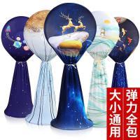 防尘罩全包落地式圆形立式电风扇罩套家用台式格力电扇罩