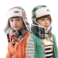 男女儿童围巾冬保暖宝宝围脖套头加绒围脖英伦小孩围脖儿童围脖韩