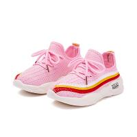 【品牌秒杀:29.9元】女童鞋儿童椰子学生秋季2019新款时尚透气网面男童网鞋单网运动鞋