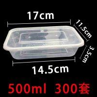 o 一次性塑料餐盒 �L方形 �盒外打包盒保�r盒整箱透明pp材�|