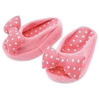 日式厚底半掌鞋骨盆XO型腿拖鞋女夏季摇摇负跟鞋 粉红色 均码半掌(35-40码)