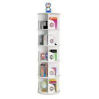 旋转书架360度书柜落地创意经济型简约现代儿童小书柜简易置物架