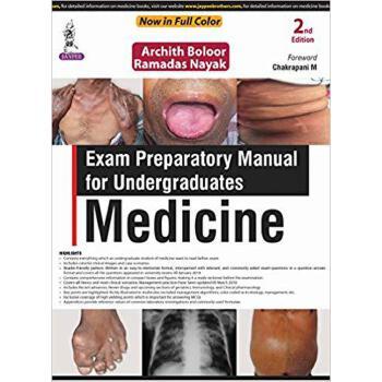 【预订】Exam Preparatory Manual for Undergraduates: Medicine 9789352704941 美国库房发货,通常付款后3-5周到货!