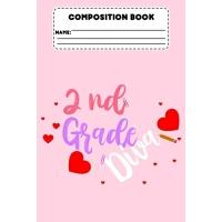 【预订】Composition Book 2nd Grade Diva: Composition Notebook Fo