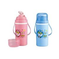 振兴 SH459 300ml保温水壶 学生运动水杯 旅行杯子 带背带卡通杯 颜色随机