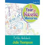 【预订】A Year of Music Memories: Portfolio Worksheets