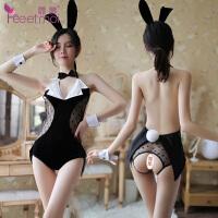 情趣内衣兔女郎制服诱或性感透明骚激情套装挑逗连体衣血滴子