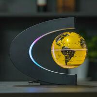 磁悬浮地球仪6寸发光自转办公室桌家居摆件摆设创意生日礼物礼品