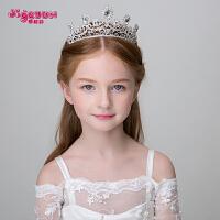 儿童发饰头饰皇冠 公主大皇冠头饰女孩生日王冠发箍头箍