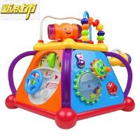 【六一儿童节特惠】 汇乐玩具806快乐小天地儿童益智早教音乐玩具1-3岁多功能