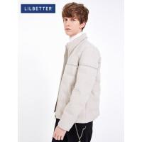 2.5折价:218元;Lilbetter男士羽绒服 短款修身立领冬装外套韩版帅气保暖羽绒衣男