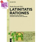 【中商海外直订】Latinitatis Rationes: De*ive and Historical Account