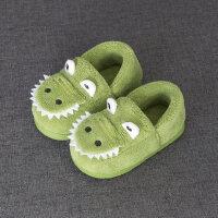 宝宝棉拖鞋冬季包跟室内儿童秋季棉鞋可爱男孩女孩