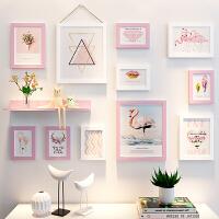 照片框挂墙相框摆台个性创意 10寸 12寸儿童可爱相片框像框相架 组合套装