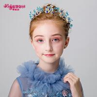 女孩小皇冠头饰 儿童头箍发箍可爱生日公主韩式女童发饰
