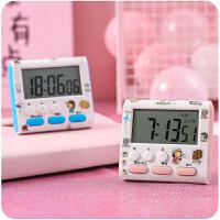 倒记厨房定时器电子提醒器秒表学生时间管理做题闹钟家用