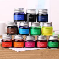 优尚N300非碳素彩色墨水 20ml钢笔墨水 颜料 12色可选 单瓶装