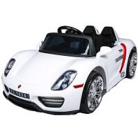双驱儿童电动车四轮汽车宝宝可坐人遥控车婴儿玩具车摇摆小孩童车
