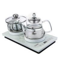 全自动底部上水电热水壶家用玻璃烧水壶茶具套装泡茶抽水电磁茶炉